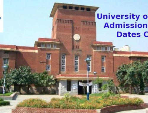 DU announces dates for UG & PG Courses admission 2021: Check details