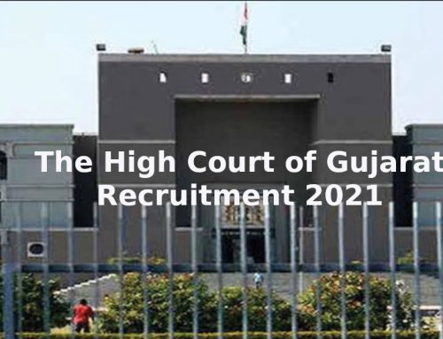 27 vacancies at The High Court of Gujarat for the post of Private Secretary for Graduate Candidates. Apply Now!