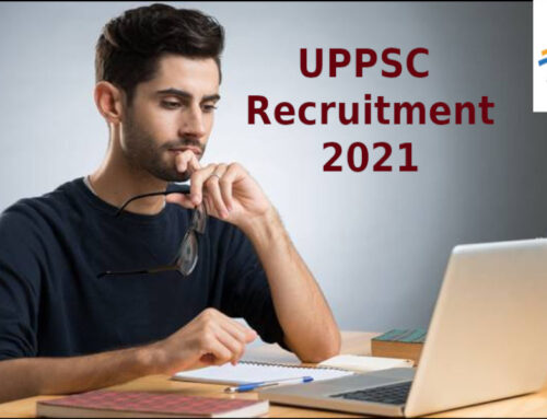 Apply for UPPSC Vacancy 2021 to the post of Assistant Engineer